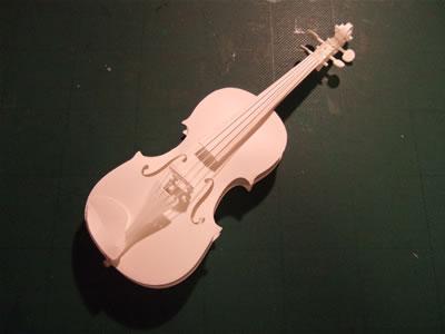 紙ヴァイオリン