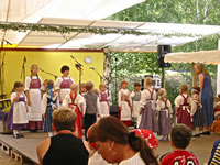 Children's folkdance